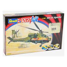 <b>Сборная модель REVELL</b> 06646 Боевой Вертолет AH-64 Apache ...
