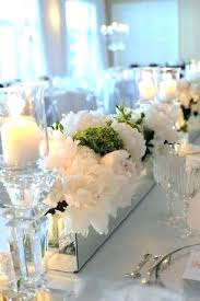 Rectangle Tables Wedding Reception Decorated Tables For Wedding Receptions
