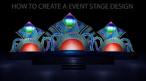 3ds max tutorial for event stage design lighting and rendering part 5