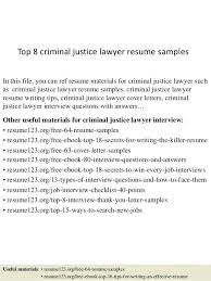Criminal Justice Resume Sample 22144 Criminal Justice Resume