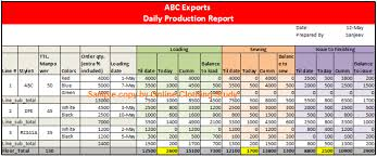 Production Reporting Templates Use Pivot Table And Become Smart In Report Making Download Excel