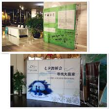Painting Display Stands Metal Iron 100x100cm100x100 Pop Up Banner Display Stands Foldable In 83