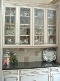 frosted glass cabinet doors ideas on installing the best frosted glass cabinets in your kitchen frosted