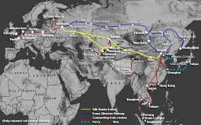 central asia the silk route by train