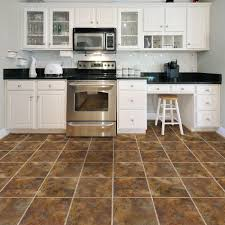 Vinyl Tile Flooring Kitchen Trafficmaster Allure 12 In X 36 In Sierra Luxury Vinyl Tile