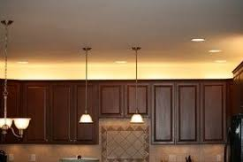 upper cabinet lighting. Over The Cabinet Lighting In A Kitchen Upper O