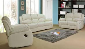 valencia cream recliner leather sofa suite 3 2 seater brand new 12 months warranty free delivery england and wales only amazon co uk kitchen home