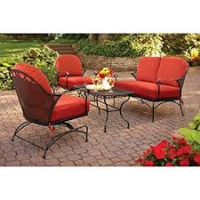 Amazon Better Homes and Gardens Clayton Court 4 Piece Patio