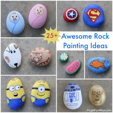 Have fun painting rocks!