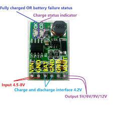 details about 5v ups power diy board charger step up dc dc converter module 3 7v li ion lipo