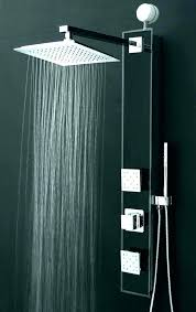 shower heads with speakers light up home head rain s led bluetooth show
