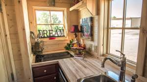 Small Picture 117 Sq Ft Tumbleweed Elm 18 Overlook Tiny House YouTube