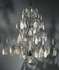 fascinating wrought iron crystal chandelier rustic wrought iron chandeliers versailles wrought iron crystal chandelier