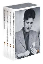 essays george orwell bbc radio recording voice in studio for the  the essential orwell boxed set animal farm down and out in paris the essential orwell boxed