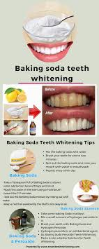 baking soda and teeth whitening are two nearer terms also using the baking soda in the combinations of lemon hydrogen peroxide as a bleach will