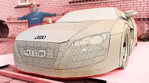 A vietnamese youtube channel shows how two locals have built lamborghini, ferrari, bugatti, ducati, and bmw replicas using pedal bikes and cardboard. Bugatti Veyron From Cardboard Youtube