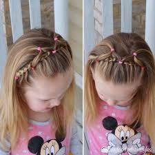 Lace Hair Style cute braided hairstyle lace braid and elastic headband 3809 by wearticles.com