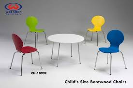round children s table chair sets kid s bentwood chair