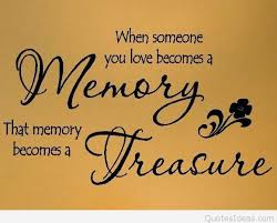 inspiring memory quote of the week