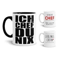 Tasse Chef Verschiedene Sprüche 795
