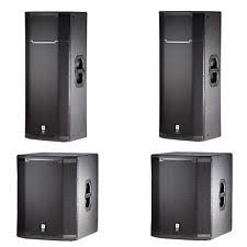 jbl karaoke speakers. jbl prx passive dj pa speaker sub system bundle package prx425 x2, prx418s x2 jbl karaoke speakers
