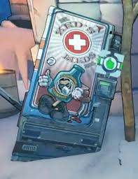 Borderlands Vending Machine Impressive Borderlands 48 Dr Zed's Meds Orcz The Video Games Wiki