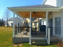 covered deck ideas.  Deck Partially Covered Deck Amazing Ideas To Inspire You Check It  Out Throughout Covered Deck Ideas R