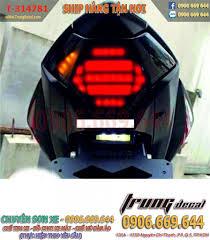 đèn hậu tích hợp xinhan cho exciter 150 - trung decal chuyên chế đèn led  audi exciter