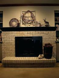 painting a brick fireplace painted brick fireplace surround cream painted fireplace brick painting a brick fireplace painting a brick fireplace