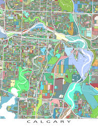 Small Picture Hang a bit of Calgary Alberta Canada on your wall with this