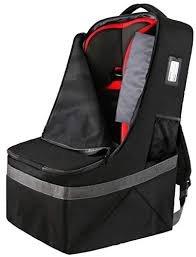 Car Seat Travel Bag Durable Padded Large Backpack For Car Seats Airport Gate Check Bag Carseat Carrier Bag Infant Seat Travel Bag With Padded Shoulder