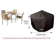 bosmere d515 4 seater circular patio