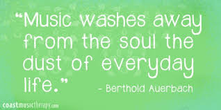 Therapy Quotes Best Music Puts The Pieces Together Music Therapy Quotes