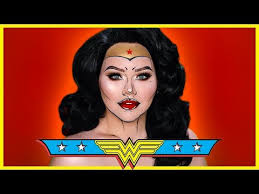 wonder woman ic inspired makeup tutorial