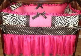 pink crib bedding carousel