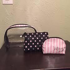 victoria s secret cosmetic bag trio