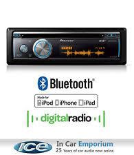 pioneer car stereos head units pioneer deh x8700dab car stereo cd usb aux in dab bluetooth plays ipod iphone