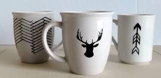 Source  DIY sharpie mugs ideas