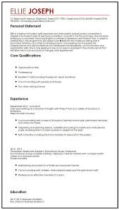 Health Care Assistant Personal Statement Cv Sample With Gap Year Myperfectcv