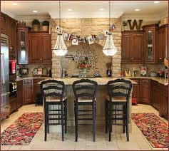 vanity rustic country kitchen decorating ideas home design at with country kitchen decorating ideas