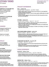 Ux Design Resume Classy Resume