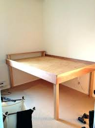 Queen High Platform Bed Cheap Beds Frame Full How To Make Rise Fr ...