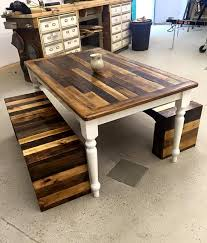furniture made from pallet wood. wood pallet benches and table set furniture made from