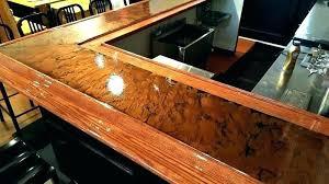 kitchen reviews experimental bronze breaking print metallic countertop