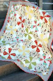 Sew Baby Quilt Instructions Baby Girl Quilt Patterns Baby Quilts ... & Pattern For Baby Boy Quilts Baby Patchwork Quilt Patterns Uk Prairie  Pinwheel Baby Quilt Free Pattern Adamdwight.com