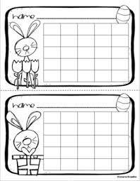 Black And White Reward Chart Positive Behavior Sticker Chart Reward Incentives Easter Holiday Spring Theme