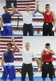 from garden grove boxing coached by well known trainer henry villegas taking on 18 year old richard brewart 152 2 lbs