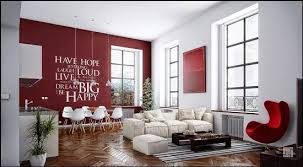 ... Opulent Design Ideas Red Wall Living Room 4 Red Designs ...
