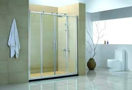 shower glass doors how to clean