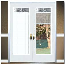 best patio door blinds ideas on sliding french doors with anderson built in